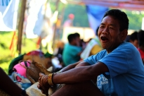 A Mangyan kuyay smiles while chewing betel nuts. Betel nut chewing is part of the lifestyle of many indigenous groups in the Philippines. (Photo Mark Ambay III)