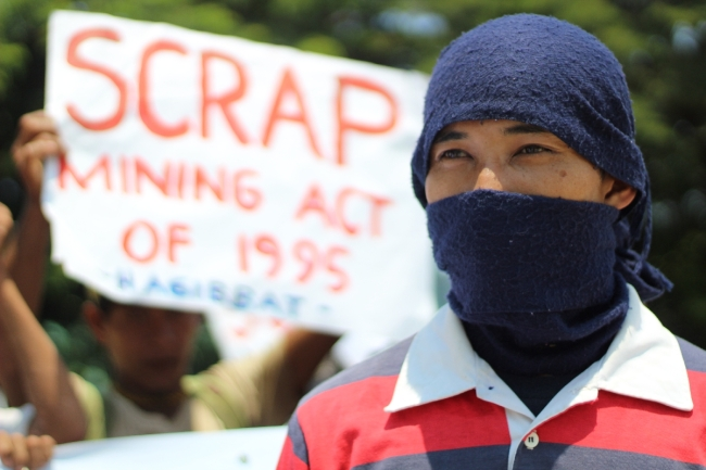 Land is life for the Mangyans and other indigenous peoples. Unfortunately, the Philippine Mining Act of 1995 allows large mining companies to own 100% of land that may be granted them by the government. Many of the mining sites are located in or very near ancestral lands. (Photo Mark Ambay III)