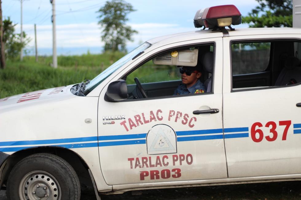 13 police car